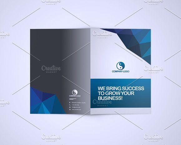 Bluna Company Profile Template by DuezaCom on @creativemarket