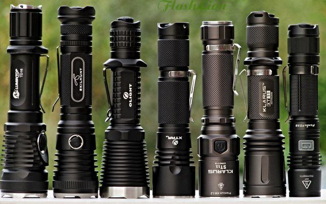 Fenix Pd35 850 Lm Powerful Compact 18650 Flashlight Review Flashlights Flashlight Life