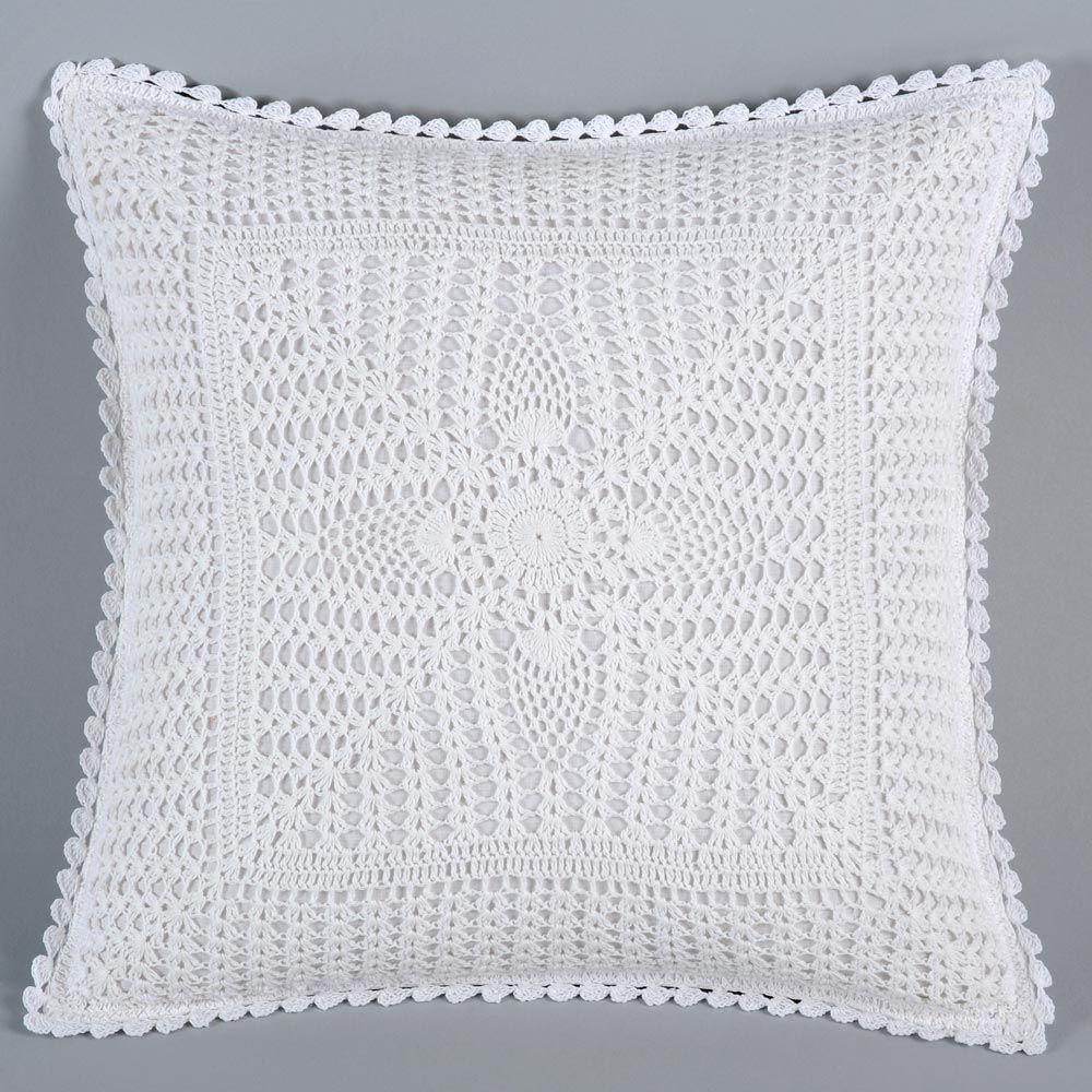 cojines crochet paso a paso - Buscar con Google | croche | Croché ...
