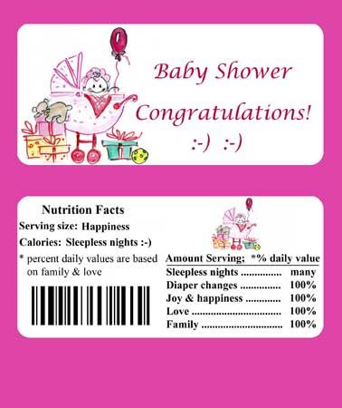 Modest image pertaining to free printable baby shower candy bar wrappers