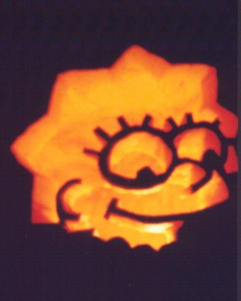 Okay so this is totally from a page of simpsons pumpkin carvings okay so this is totally from a page of simpsons pumpkin carvings but they work as stencils too pronofoot35fo Image collections