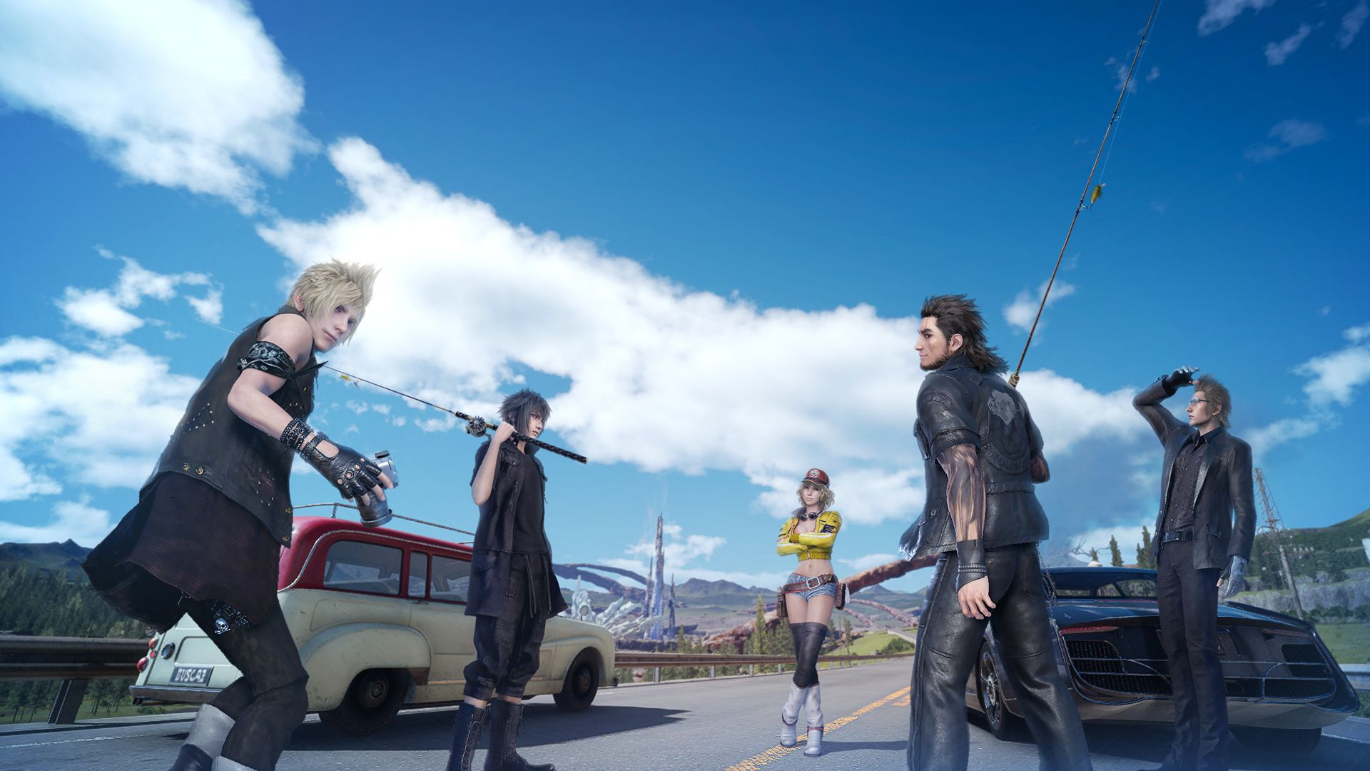 You Can Finally Reel In Monster Of The Deep Final Fantasy Xv On Psvr Final Fantasy Xv Final Fantasy Final Fantasy Characters Monster of deep final fantasy xv
