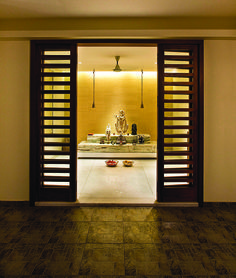 He Simple Puja Room Has An Air Of Spirituality. The Deities Are Reverently  Placed On Part 28
