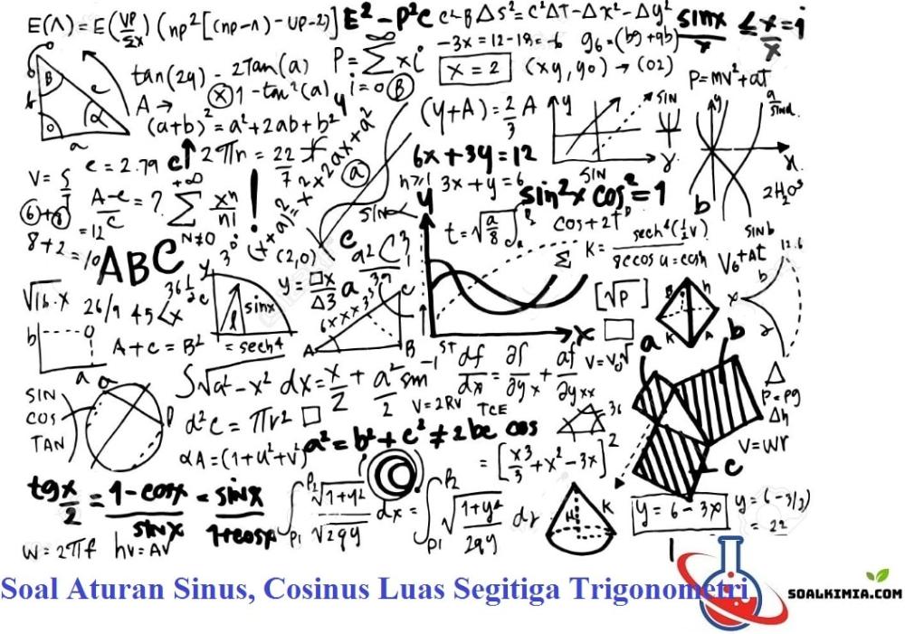 Contoh Soal Luas Segitiga Dengan Trigonometri