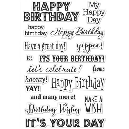 Hero Arts - It's Your Day Birthday Wishes 4 (CL661)