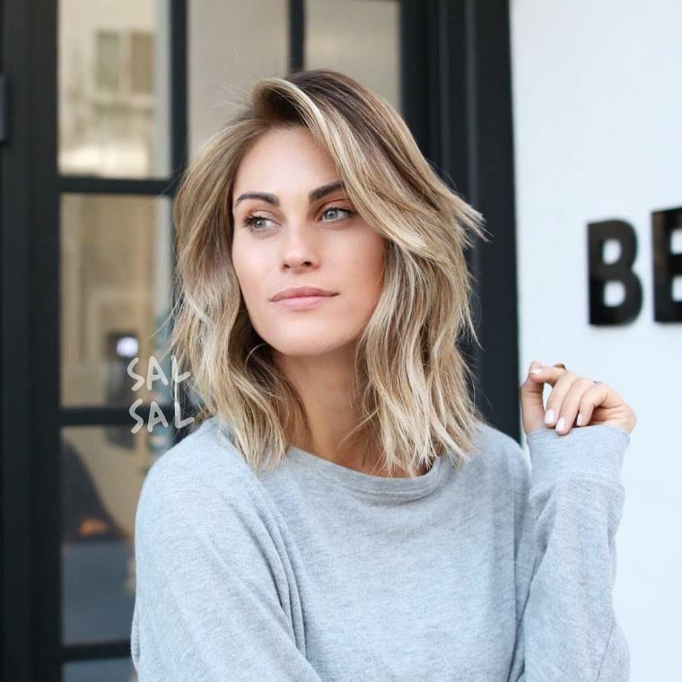 Peinados Media Melena Modernos Para Pelo Liso Y Rizado Belleza