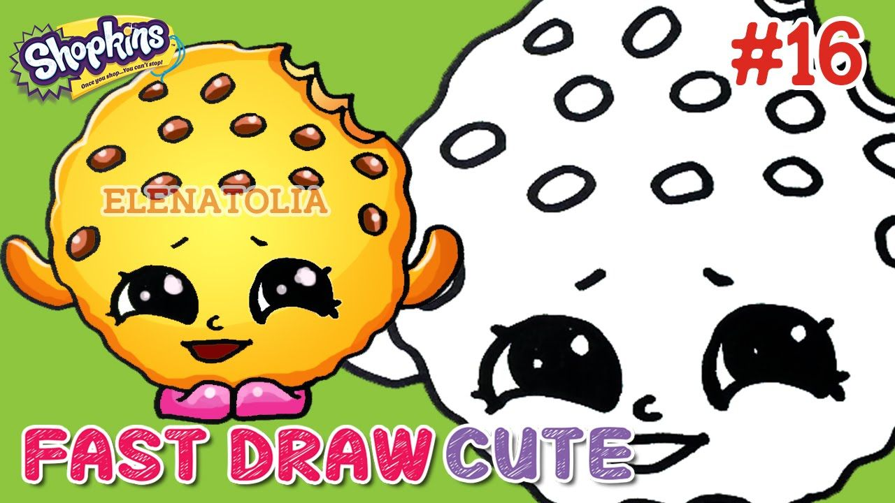 Easy Drawings AMAZING! How To Draw Kooky Cookie Step by