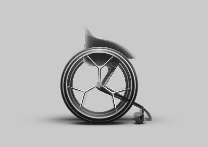 This 3 D Printed Wheelchair Can Make A More Comfortable Life For The Disabled Fauteuil Roulant Impression 3d Et Dessins Industriels