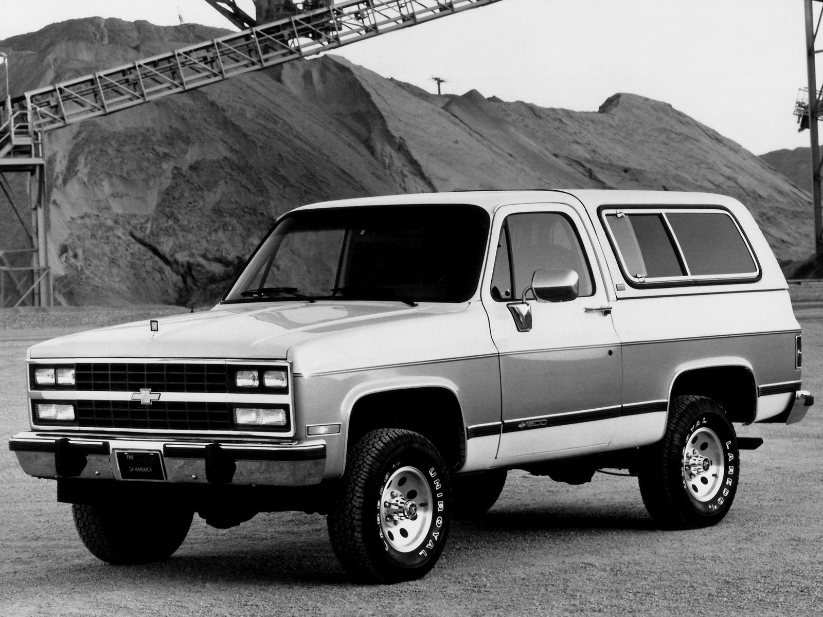 1990 Chevrolet Blazer Chevy K5 Blazer Chevrolet Blazer