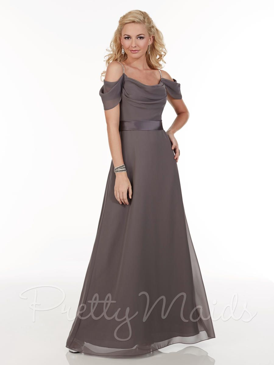 Check out the deal on christina wu cowl neck long bridesmaid
