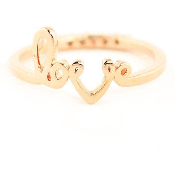 Forever 21 Wanderlust + Co Love Midi Ring (€32) ❤ liked on Polyvore featuring jewelry, rings, knuckle midi ring, above-the-knuckle rings, 14 karat gold ring, polish jewelry and 14 karat gold jewelry