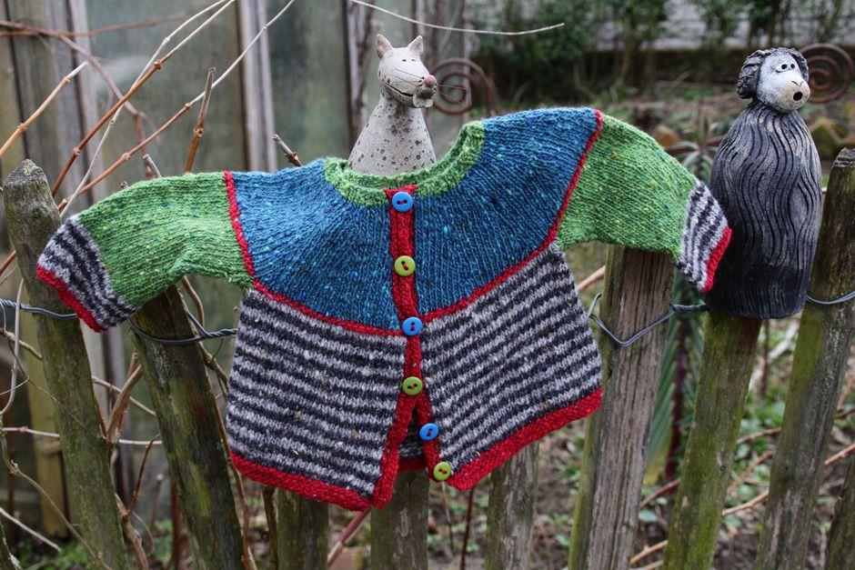 Babys-Tweed-Ringelmaus-Jacke-Stricken.jpg 940×627 Pixel | Strick ...