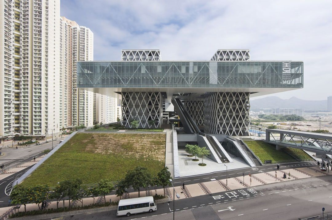 Hong Kong Design Institute Inspired By Utopian Floating Cities Of The