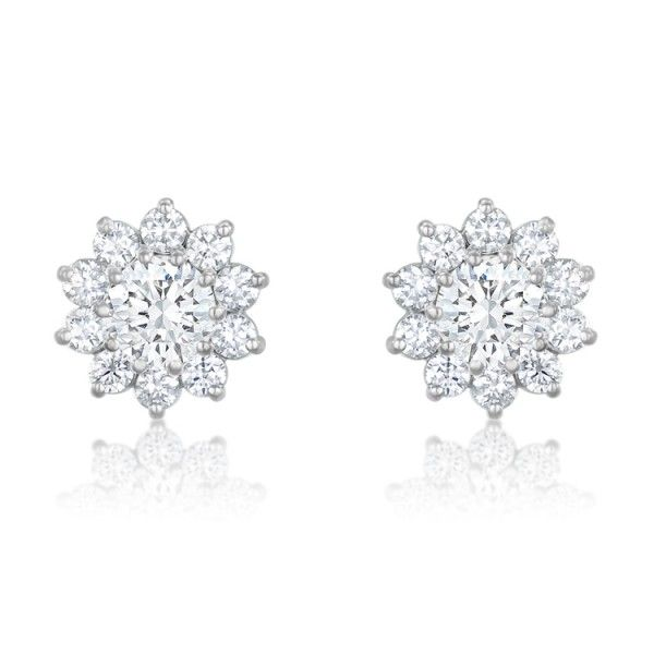 Gemesis Starburst Diamond Earrings Setting Price 1 377 31