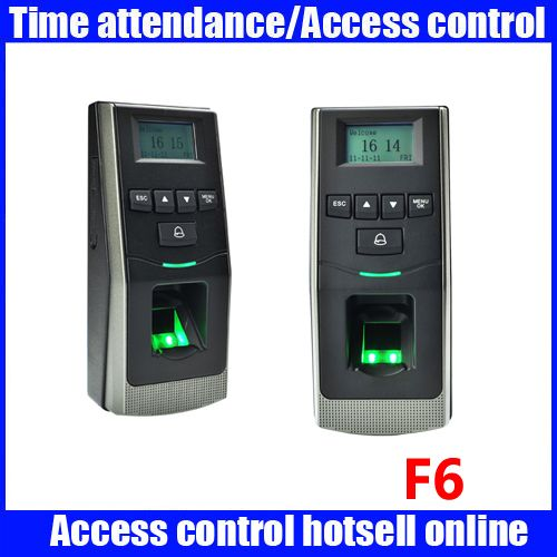 ZK F6 free software fingerprint and RFID card access control