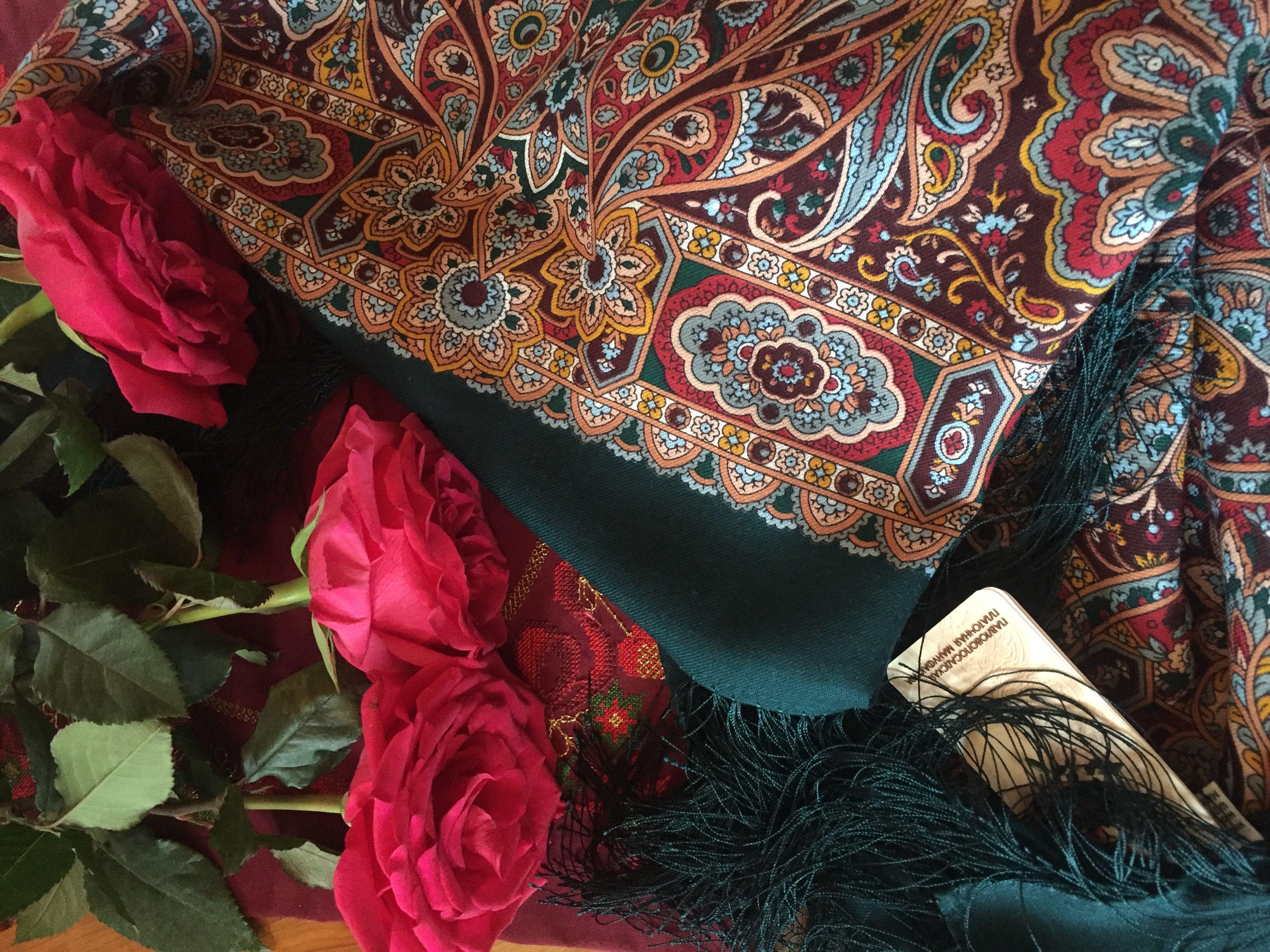 использовала павловопосадская шаль майя фото рекомендую нет