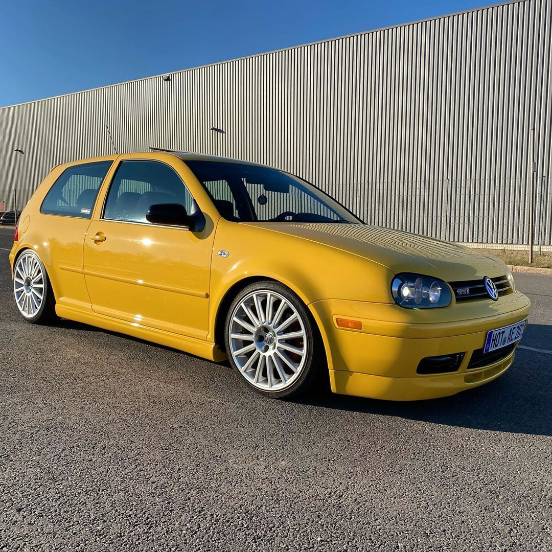 Vw Golf Iv 20th Ae Gti 956 Posted On Instagram Back On The Streets Coches Personalizados Volkswagen Tuning Autos
