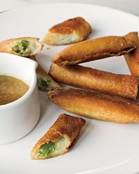 Mashed-Potato Spring Rolls // More Amazing Recipes by David Chang: http://www.foodandwine.com/slideshows/david-chang #foodandwine