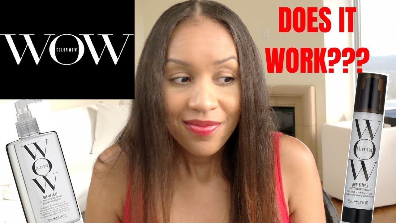 Color Wow Dream Coat And Pop Lock Review Color Wow Curly Hair