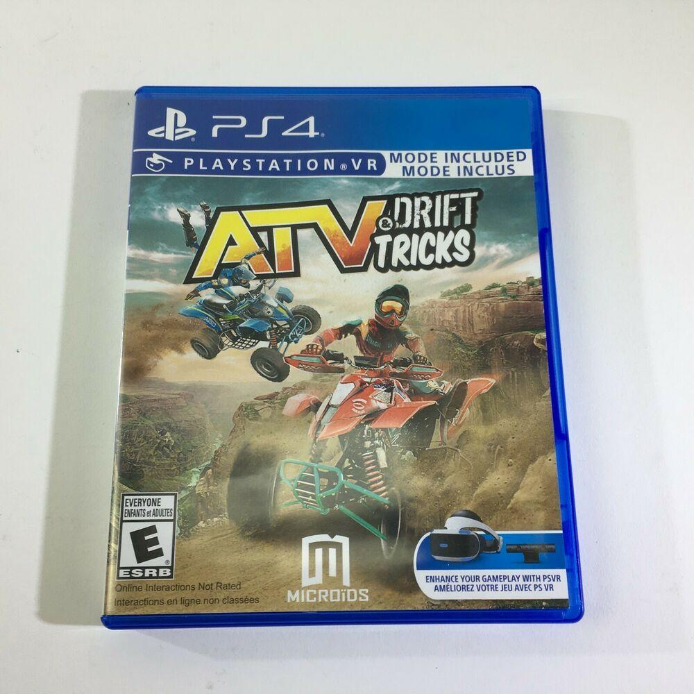 ATV Drift Tricks Playstation VR PS4 Sony PSVR Virtual