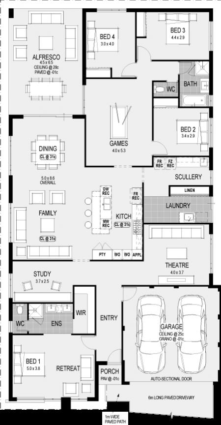 future house - Vienna House Plans