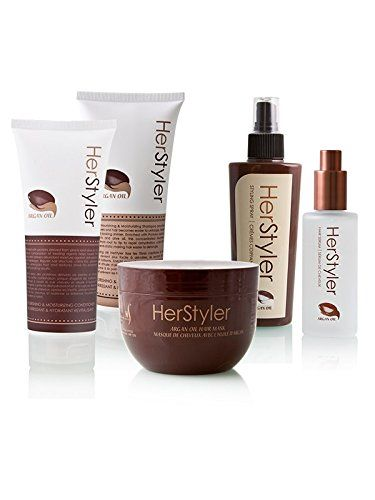 Herstyler 155in15 Argan Oil Hair Care Set Argan Hair Serum Argan Mask ...