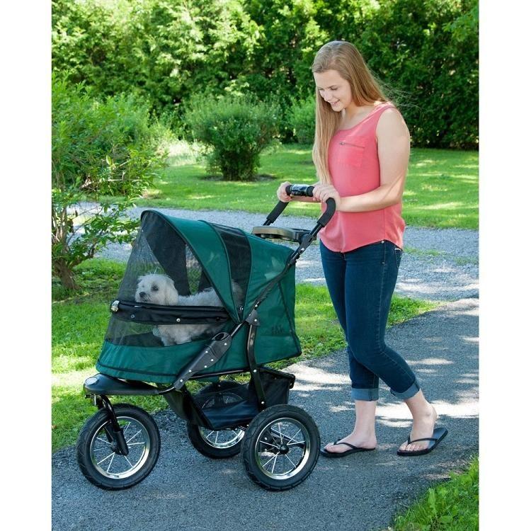 Jogger NoZip Pet Stroller Forest Green Pet stroller