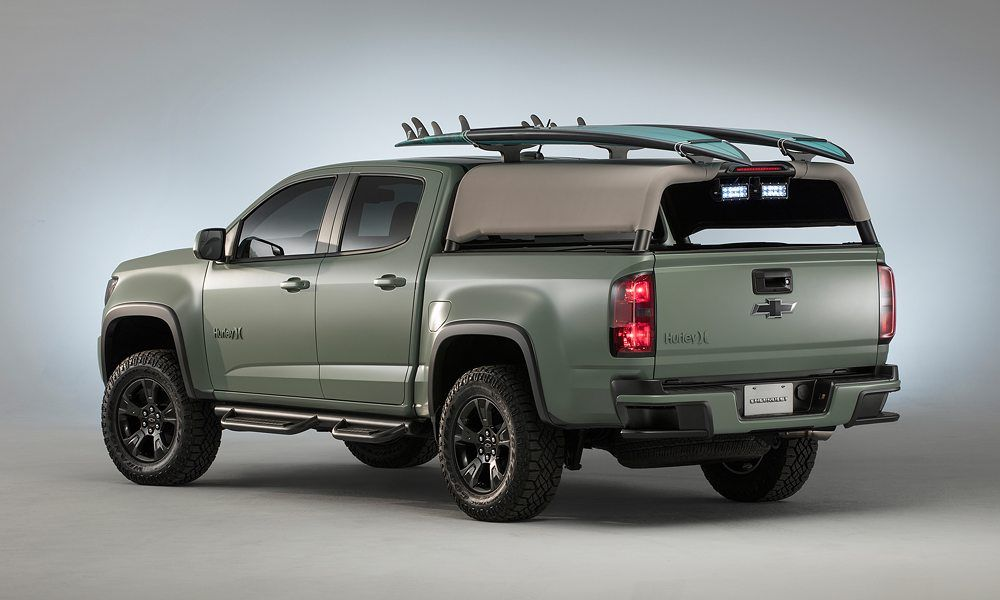 Chevy X Hurley Surf Truck Chevrolet Colorado Chevrolet Colorado Z71 Chevrolet