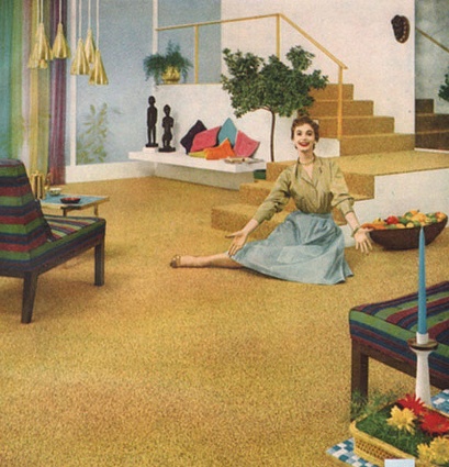 Mid Century Modern Firth Carpets Advertisement 1957 With 3 From Jdzigner Www Jd Mid Century Modern Interiors Mid Century Decor Mid Century Modern Design