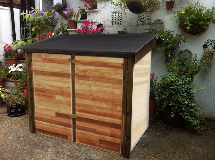 Delicieux Wheelie Bin And Log Storage.   Custom Made Garden Buildings Surrey