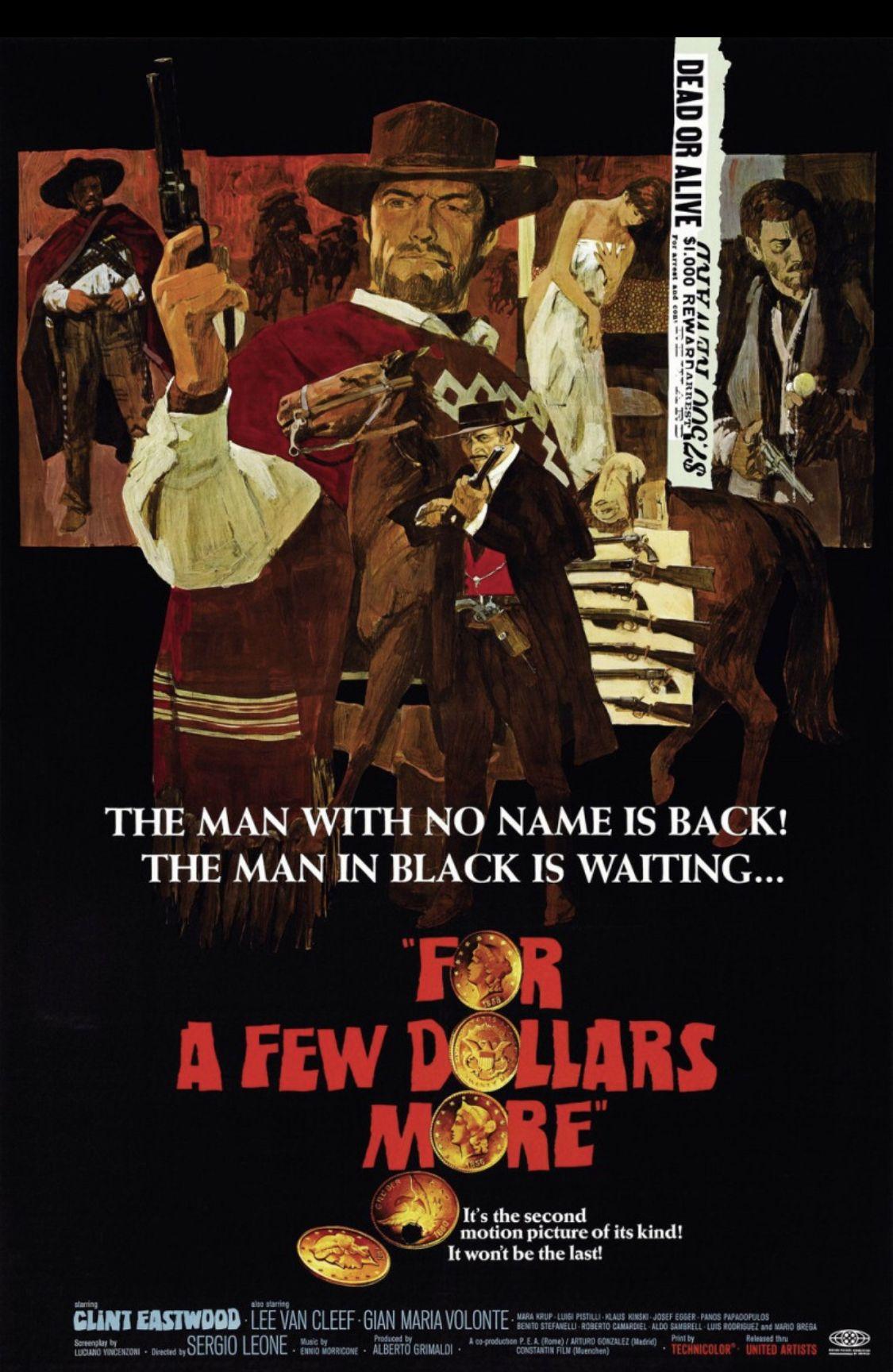 Pin De Henry Swanson En Movie Posters Carteles De Peliculas Trilogia Del Dolar Peliculas Completas