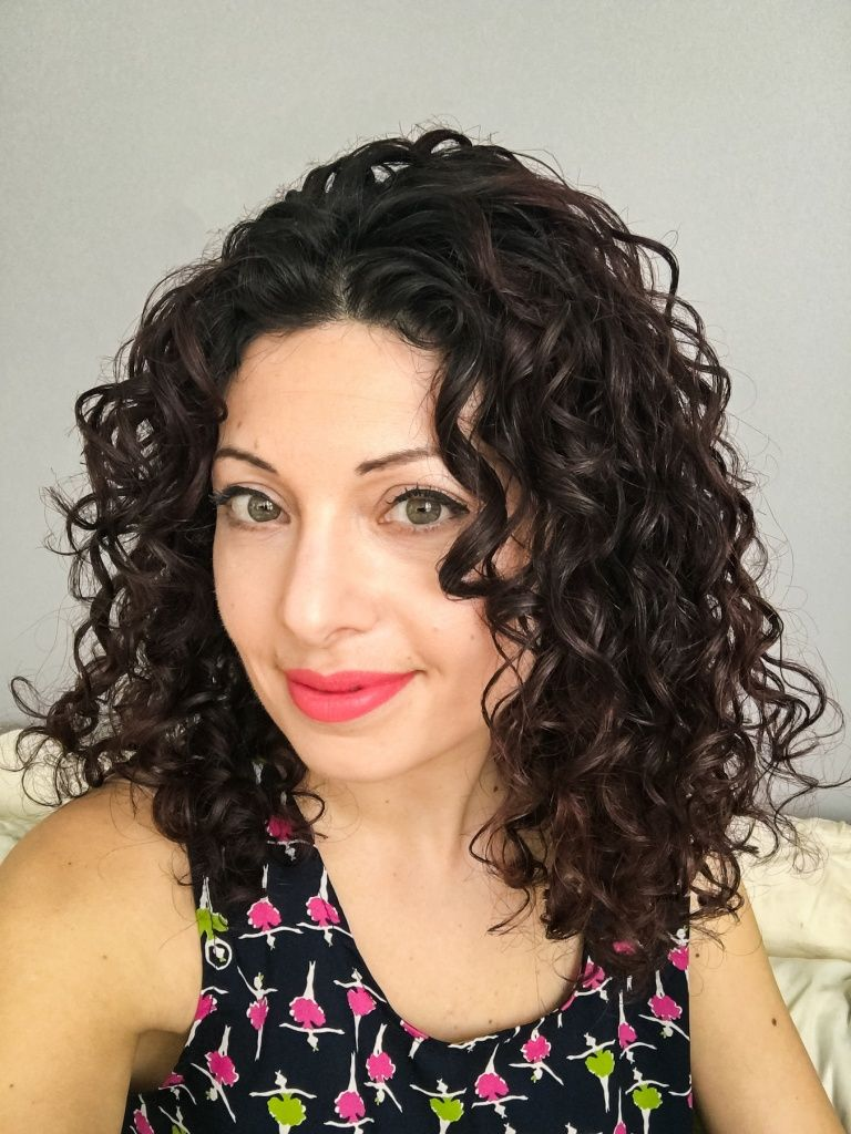 A b curls defined my b curly hair routine pinterest