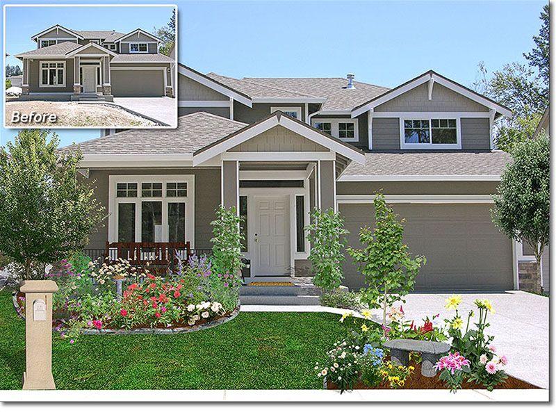 Home Front Landscape Design | Landscape Design Photos If ...