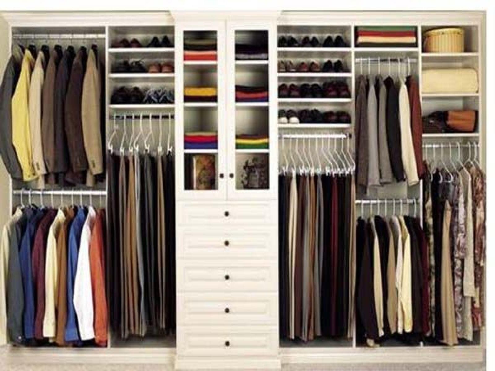 Closet Systems For Men Diy Closet System Closet Organization