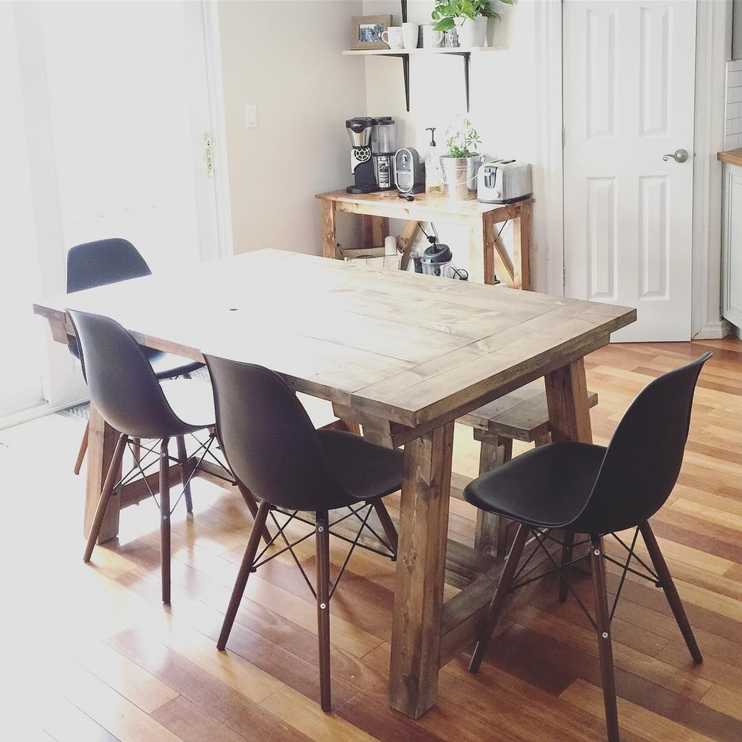 rustic boho scandinavian dining room open shelves ana white coffee bar farmhouse on boho chic dining room kitchen dining tables id=70581