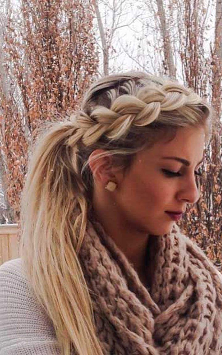 French braid hair pinterest french braid dutch braids and