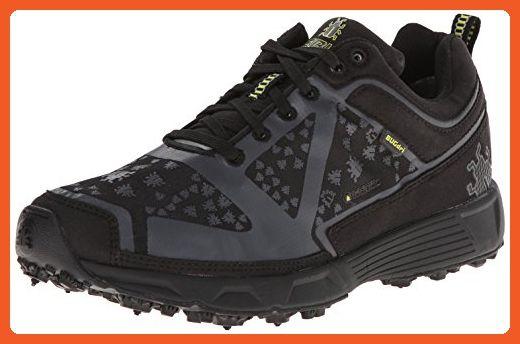Icebug Women's DTS Dri BUGrip Running Shoe,Black/Charcoal,7 M US -