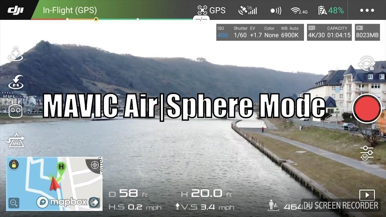 Dji Mavic Air Sphere Mode Tutorial Videography Mavic Travel