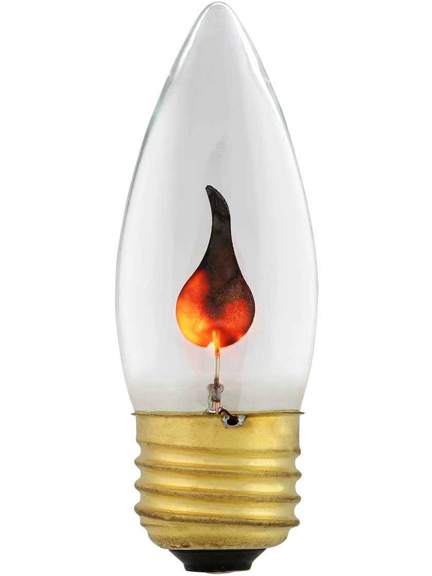 Flickering Flame Light Bulb 3 Watt In 2020 Bulb Light Bulb Candle Bulbs