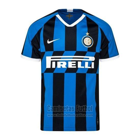 Camiseta Inter Milan Primera 2019 2020 Futbol Replicas Camisetas Inter De Milán Camisetas Deportivas