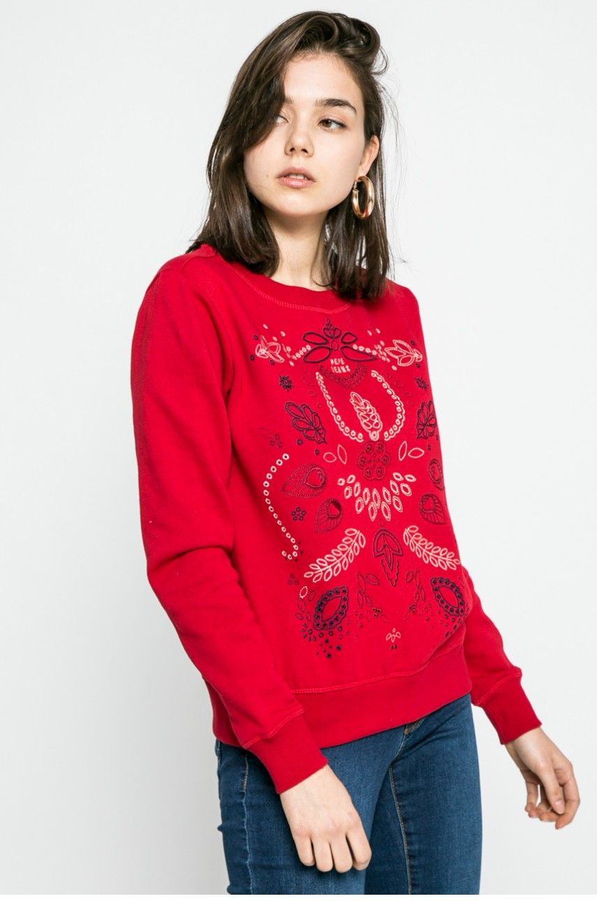 bluza damska 4f | gruby sweter | bluza nike damska czerwona