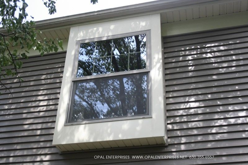 Window Box Build Out With Andersen Windows Exterior House Renovation House Exterior Andersen Windows