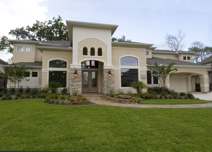 Stucco House Pictures And Designs Houston New