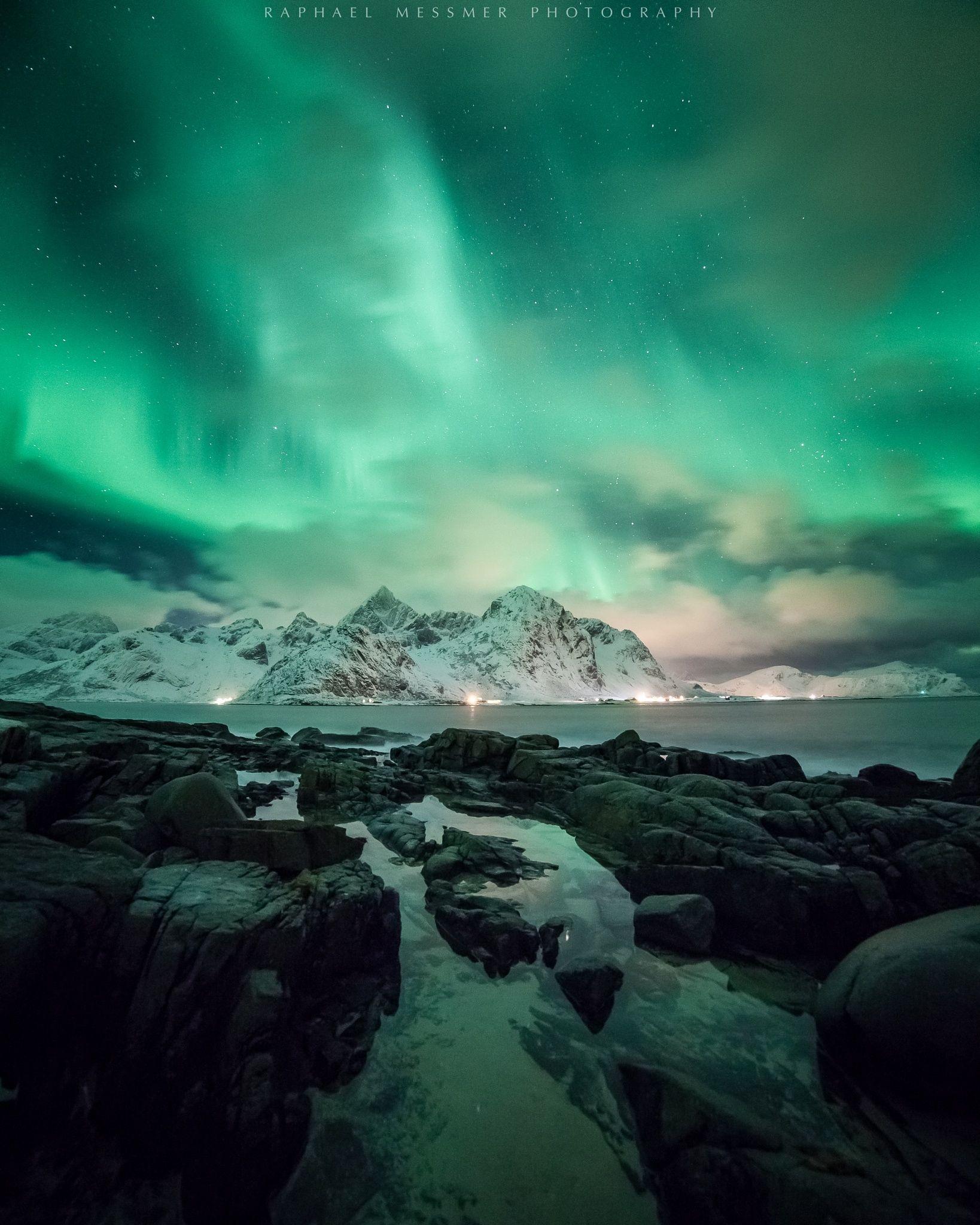 Arctic Night Arctic Landscape Arctic Arctic Animals