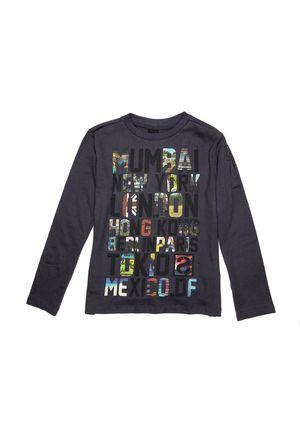 DESIGUAL Boys' Cuenca Shirt