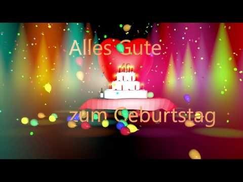 Gluckwunsche Zum Geburtstag Video Mit Schonem Geburtstagslied