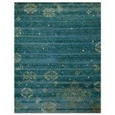 Found it at Wayfair - Qing Blue Area Rug