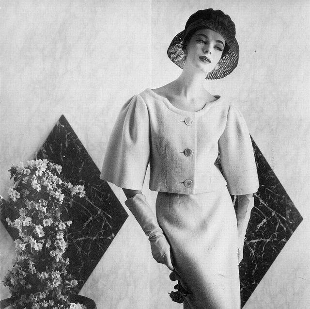 Lena wearing Pierre Cardin 1959