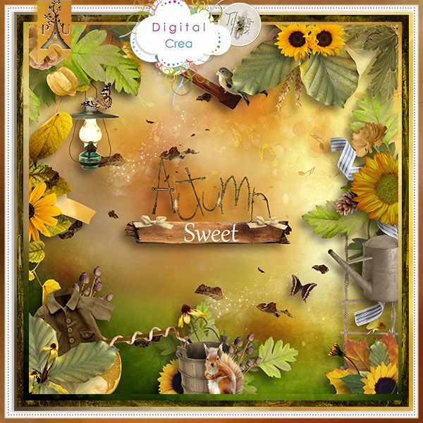 Autumn Sweet de Tif Scrap