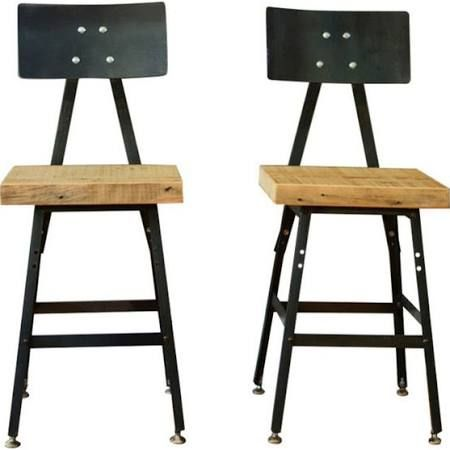 Metal And Wood Rustic Barstools For Sale Google Search Rustic Bar Stools Bar Stools Decor